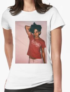 1975 pose Womens Fitted T-Shirt
