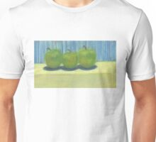 3 Green Apples Unisex T-Shirt