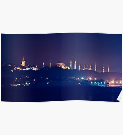 A Different Silhouette of Istanbul Poster