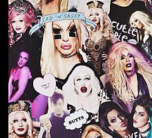 Drag Queen Collage by isaurayeh