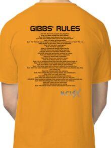 Gibbs' Rules - NCIS Classic T-Shirt