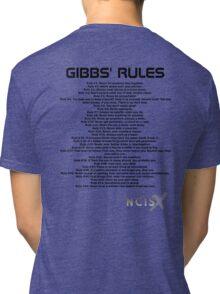 Gibbs' Rules - NCIS Tri-blend T-Shirt