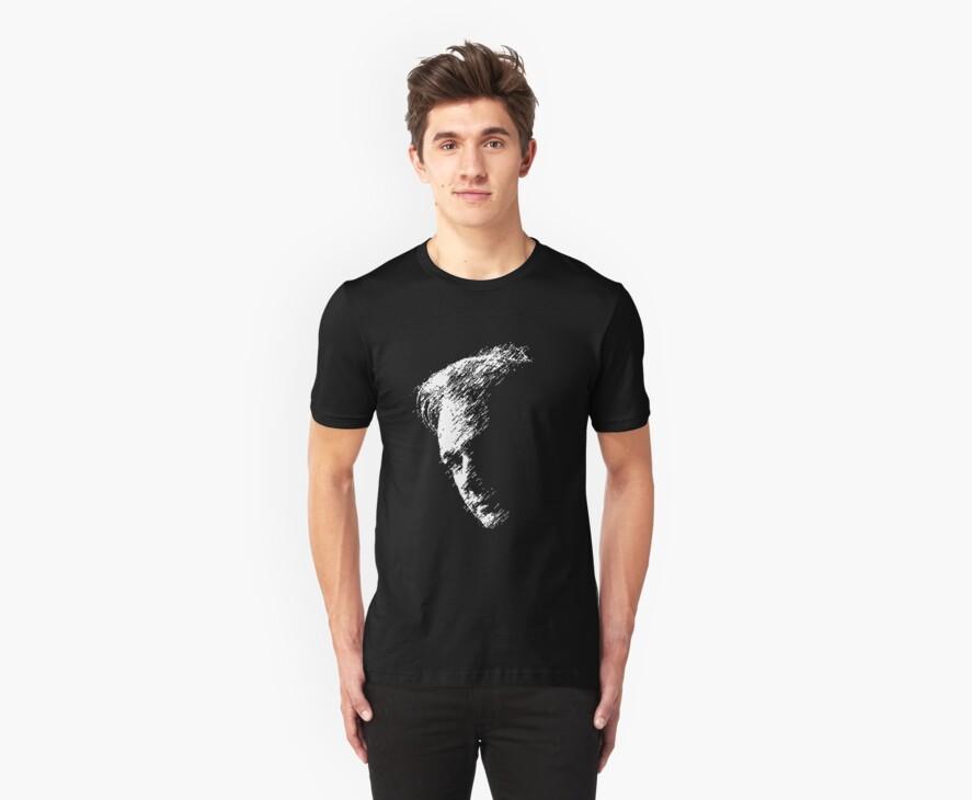 Julian Assange Wikileaks Retro Pixel Art T-shirt by Dan & Emma Monceaux