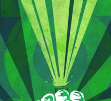 Green Lantern's light Sticker