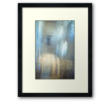Mysterious Cave. Impressionistic Style Framed Print