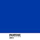 Pantone Plastica 286 C iPhone case by Plastica Tees