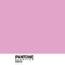 Pantone Plastica 672 C iPhone case by Plastica Tees