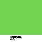 Pantone Plastica 7488 C iPhone case by Plastica Tees