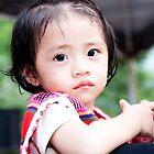 泰雅族小女孩子 Little Atayal girl by Jon Burke