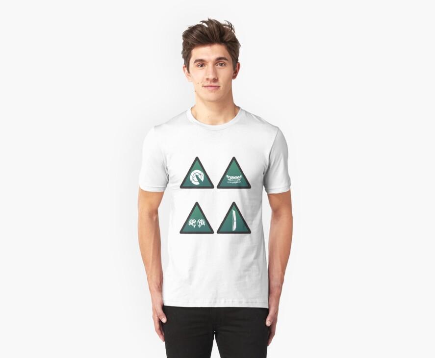 Chemical Hazards T-Shirt by BurkyShtuff