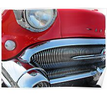 1957 Buick Century in Red Poster