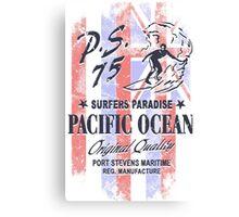 Hawaii Surfing Canvas Print