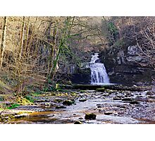 Cauldron Falls, West Burton, Bishopdale, Yorkshire Dales Photographic Print