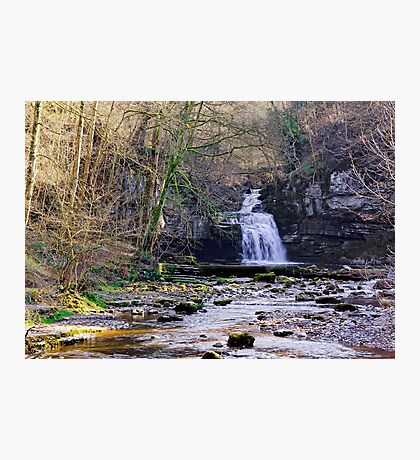 Cauldron Falls, West Burton, Bishopdale, Yorkshire Dales Photographic Print