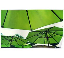 Umbrella Canopy Poster