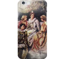 The Discussion iPhone/iPod Case iPhone Case/Skin