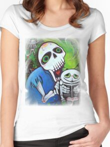Sugar Cat Guardians Women's Fitted Scoop T-Shirt