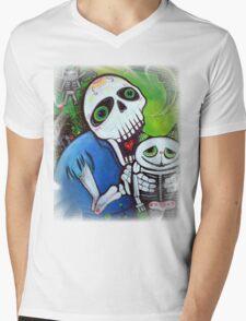 Sugar Cat Guardians Mens V-Neck T-Shirt