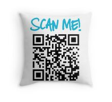 Scan Me! Throw Pillow