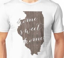 Illinois Home Sweet Home Unisex T-Shirt
