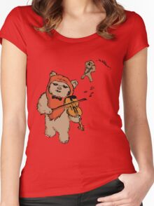 Exquisite Ewok Women's Fitted Scoop T-Shirt