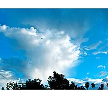 Clouds over Los Angeles Photographic Print