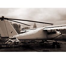 Old Airplane Photographic Print