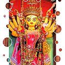Ethnic Durga Idol by pseth