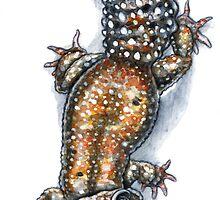 Gecko Friend by Mayra Boyle
