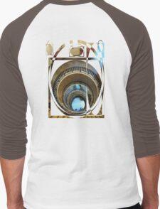 spiral staircase Men's Baseball ¾ T-Shirt