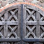 Old doors in Trakai castle - Lithuania by Arie Koene
