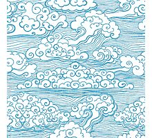 Penciled Clouds Photographic Print