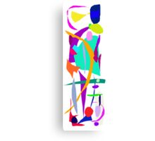 Unexpected Cosmic Rays Imagination Education Canvas Print