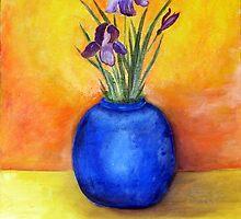 Blue Iris by Ana Murillo