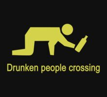Drunken People Crossing by iloveisaan