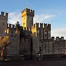 The Scaliger Castle in Sirmione by kirilart