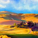 Tuscany by Ata Alishahi