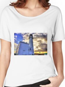 Flamborough Head Lighthouse Yorkshire Women's Relaxed Fit T-Shirt