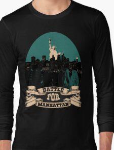 battle for manhattan Long Sleeve T-Shirt