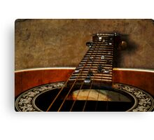 Six String Highway Canvas Print