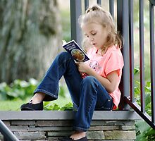Book worm by Penny Rinker
