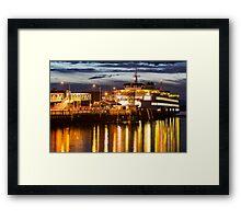 Washington State Ferry, Puyallup Framed Print