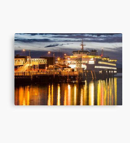 Washington State Ferry, Puyallup Metal Print