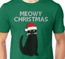 Meowy Christmas Unisex T-Shirt