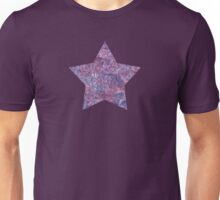 Purple swirls doodles Unisex T-Shirt