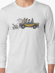 "Honeymoon ""Just Married"" Long Sleeve T-Shirt"