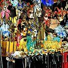 Venetian Masks by pseth