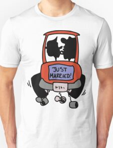 "Wedding Day Honeymoon ""Just Married"" T-Shirt"