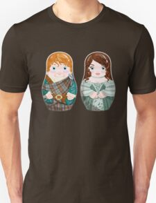 Jamie and Clair (wedding) Unisex T-Shirt