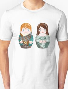 Jamie and Clair (wedding) Unisex T-Shirt